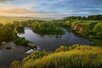 Река Красивая Меча фото