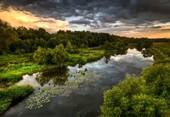 Река Лопасня фото