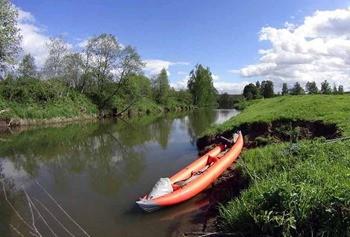 Река Молокча фото