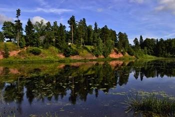 Река Оредеж фото