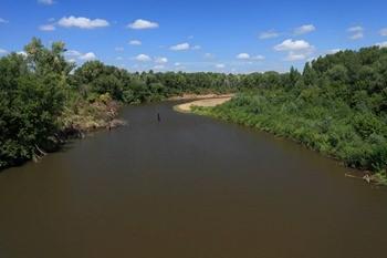 Река Салмыш фото