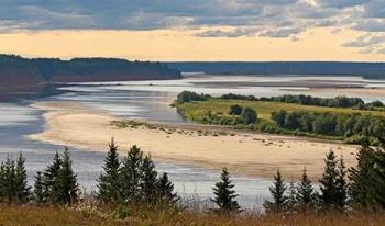 Река Северная Двина фото