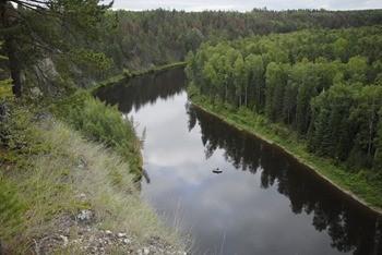 Река Сосьва фото