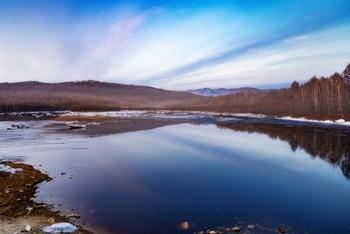 Река Тында фото
