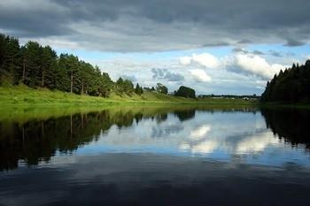 Река Устья фото