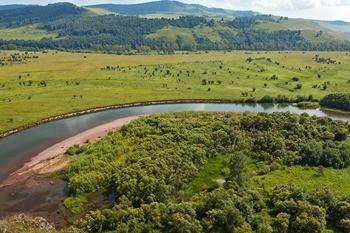 Река Чулым фото