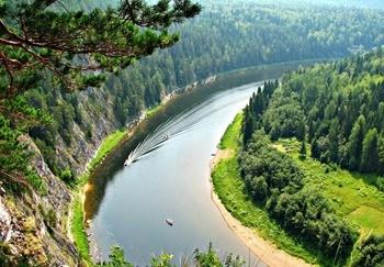 Река Чусовая фото