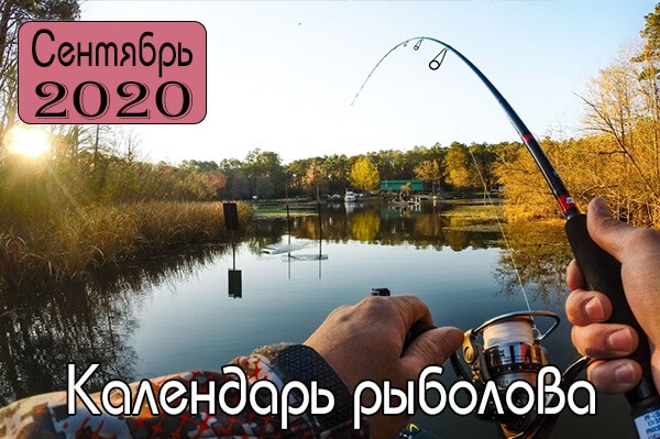 СЕНТЯБРЬ Календарь рыболова