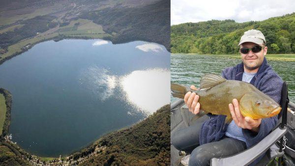 ВИДЕО: Вулканические монстры!!! Рыбалка в кратере вулкана. Рыбалка на линя.