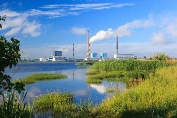 Водохранилище Рязанской ГРЭС фото