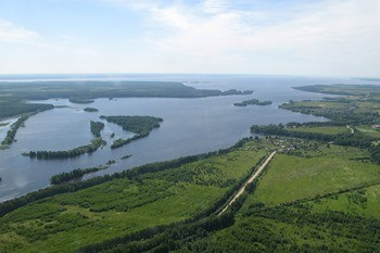 Горьковское водохранилище фото