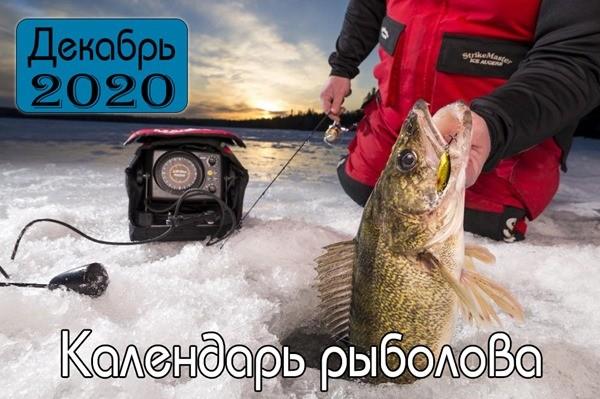 ДЕКАБРЬ Календарь рыболова