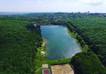 Комсомольский пруд фото