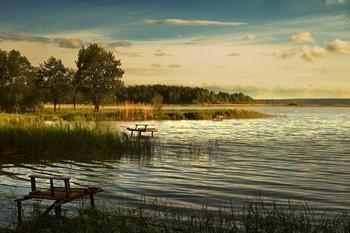 Людиновское водохранилище фото