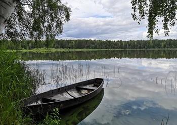 Озеро Акшубень фото