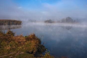 Озеро Леушинский Туман