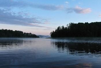 Озеро Мячковское фото