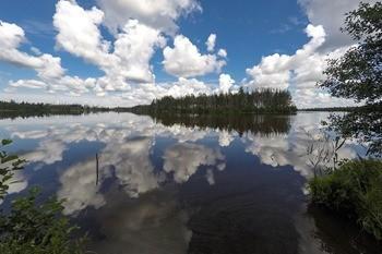 Озеро Нельша фото