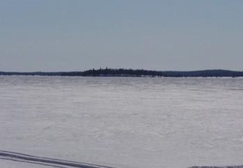 Озеро Несь фото