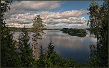 Озеро Сапшо фото