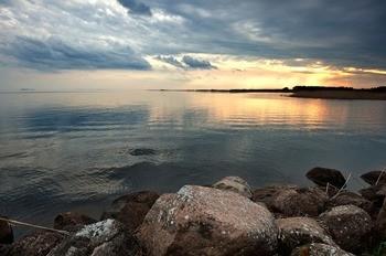 Псковское озеро фото