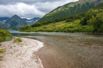 Река Авача фото