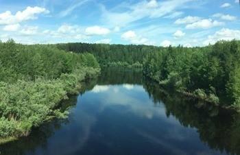 Река Большой Салым фото