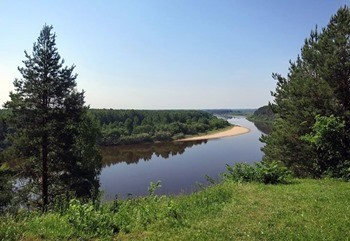 Река Ветлуга фото
