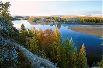 Река Витим фото