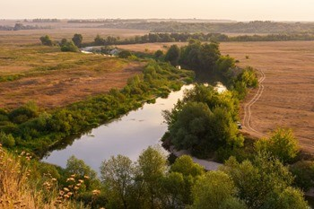 Река Ворона фото