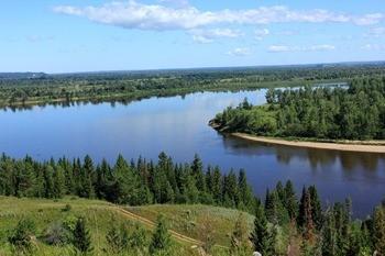 Река Вятка фото