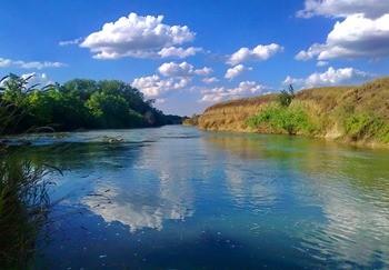 Река Егорлык фото