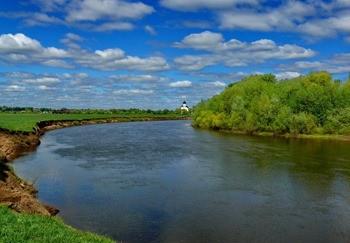 Река Клязьма фото