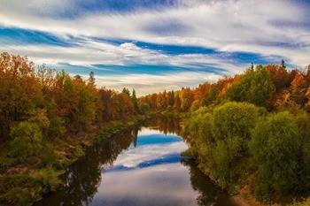 Река Кокшога фото