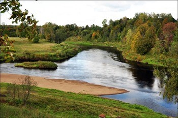 Река Кунья фото