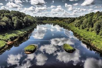Река Ловать фото