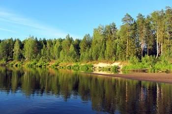 Река Луза фото