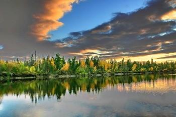 Река Ляпин фото