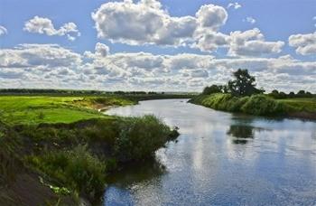 Река Мокша фото