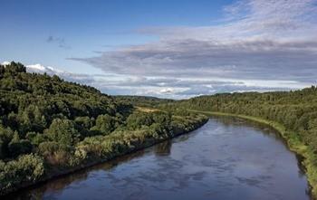Река Мста фото