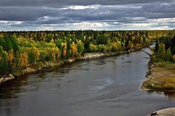 Река Надым фото