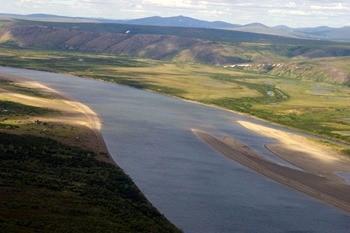 Река Пенжина фото