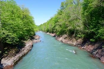 Река Средний Хаджох