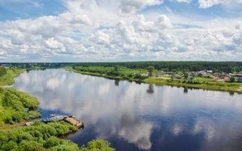 Река Сухона фото
