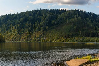 Река Томь фото