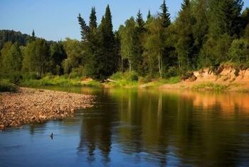 Река Тутуяс фото