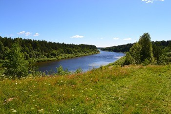 Река Унжа фото