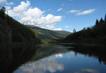 Река Учур фото