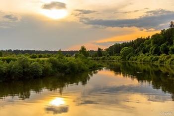 Река Шешупе фото