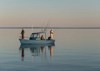 Рыбалка в поселке Орловка